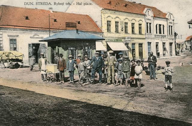 História mesta Dunajská Streda