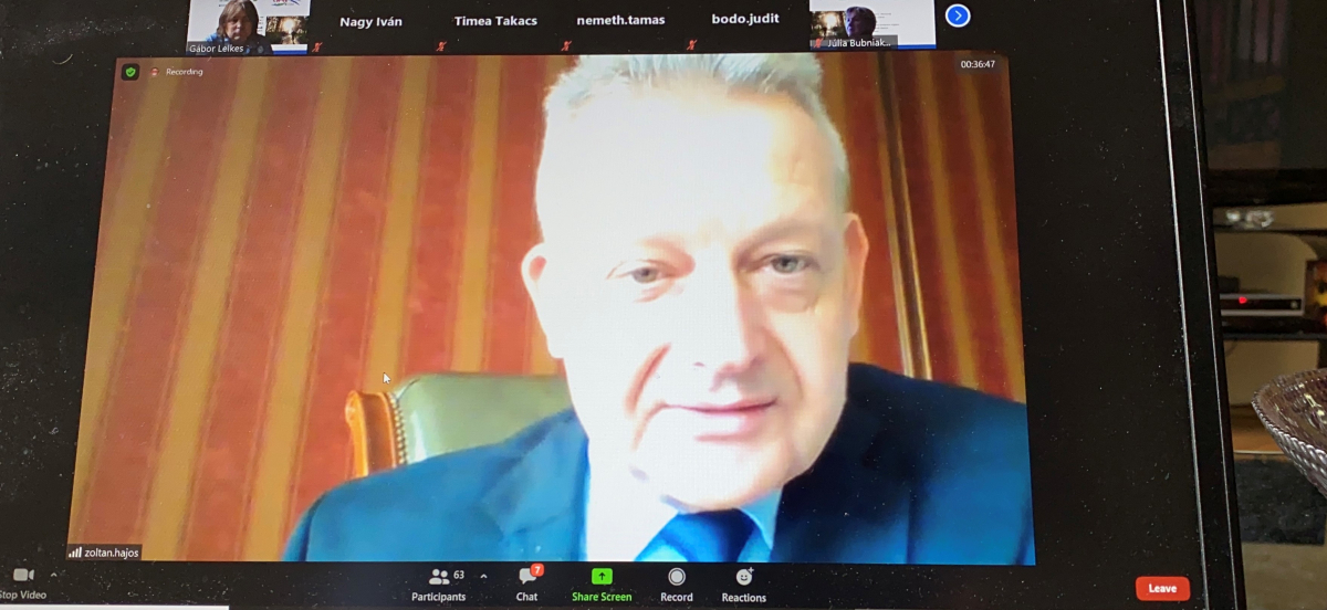Príhovor Judr. Hájos Zoltán primátor mesta